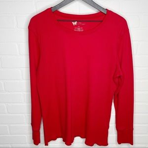 Natural Reflections thermal long sleeve top 2XL